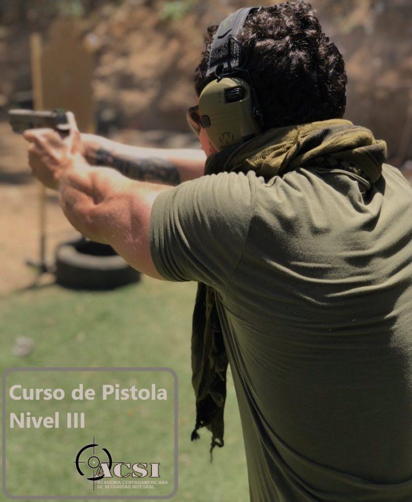Curso de Pistola Defensiva Nivel III