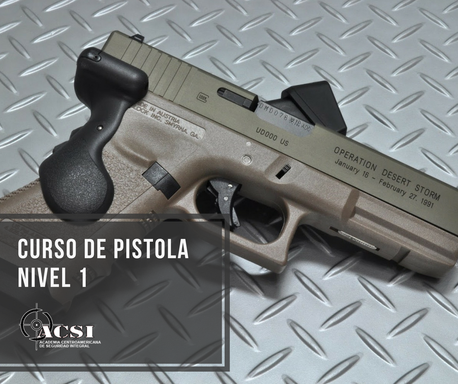 Curso de Pistola Defensiva Nivel I