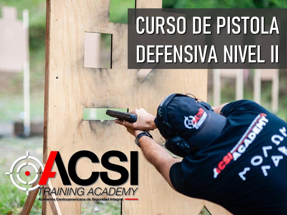 Pistola Defensiva Nivel II